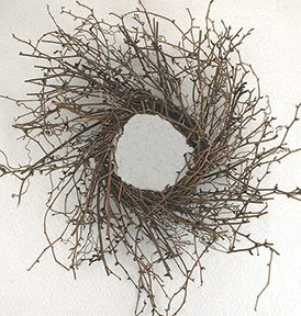 Large Dragon Vine Wreath by BCD