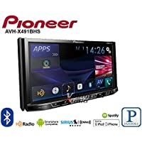 Pioneer AVH-X491BHS 7' DVD Receiver with Bluetooth and HD Radio