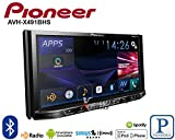 Pioneer AVH-X491BHS 7'' DVD Receiver with Bluetooth and HD Radio