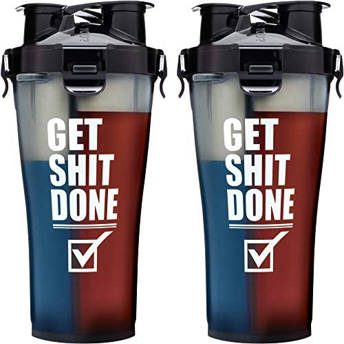 Hydra Cup – Dual Threat Shaker Bottle beste fitnessgeschenk für männer