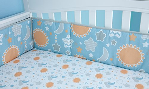 - NoJo Unicorn 4 Piece Nursery Crib Bumper