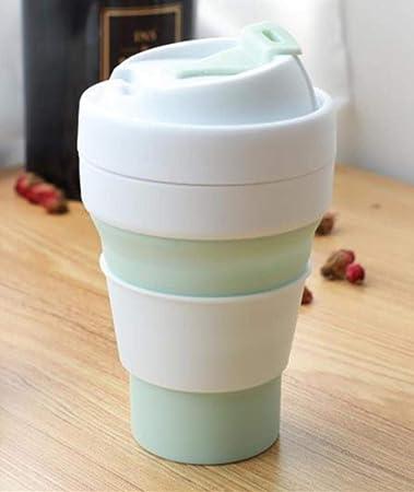Reutilizable Taza De Café Plegable De Silicona De 12 Oz Vaso De ...
