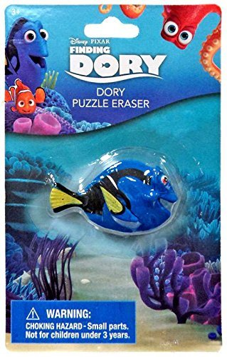 Toddlers Finding Dory Nemo Kids Back to School Pre-school Elementary Toy Figure Puzzle Eraser