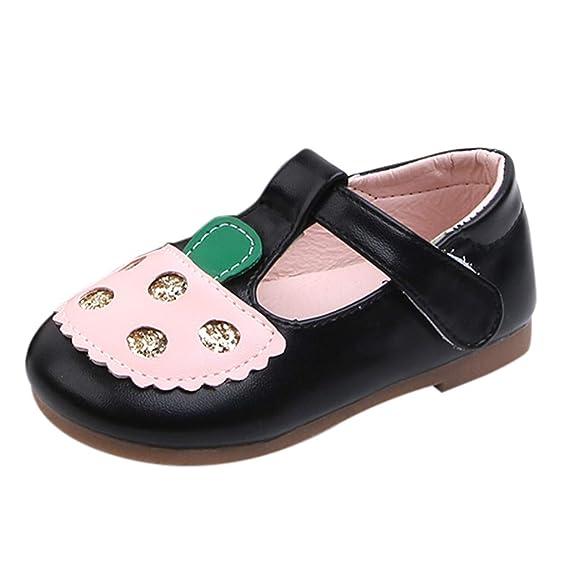 LILICAT ✈✈ 2019 Lentejuelas de Las niñas de los niños Zapatos Elegantes de la Zapatos pequeños Zapatos Frescos Infant Kids Baby Girls Elegante Cuero ...