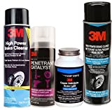 3M Brake Job Necessities including Copper Anti-Seize Brake Lube, Penetrant Catayst and High Power Break cleaners