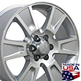 #10: 20x8.5 Wheel Fits Ford Truck - F-150 Style Silver Rim, Hollander 3787