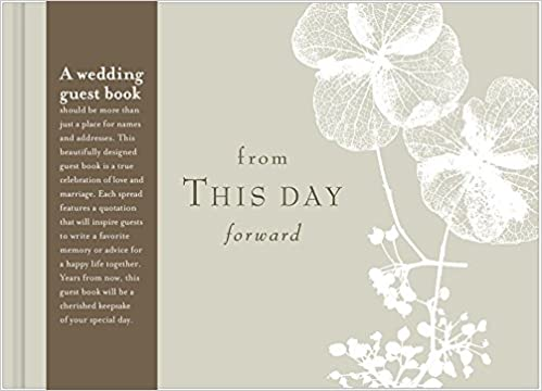 amazonin buy from this day forward a wedding guest book book online at low prices in india from this day forward a wedding guest book reviews