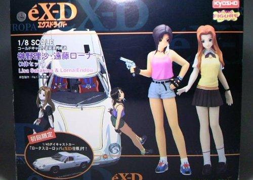 ex-D 1/8 Cold Cast Painted Sakakino Lisa Endo Lorna (Set of 2) Limited Edition - Exd Set