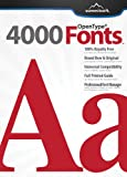 4000 Fonts [Download]