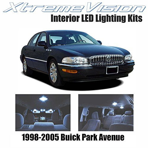 XtremeVision Interior LED for Buick Park Avenue 1998-2005 (20 Pieces) Cool White Interior LED Kit + Installation Tool
