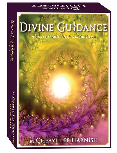 Book cover from Divine Guidance Oracle Cards by Cheryl Lee Harnish