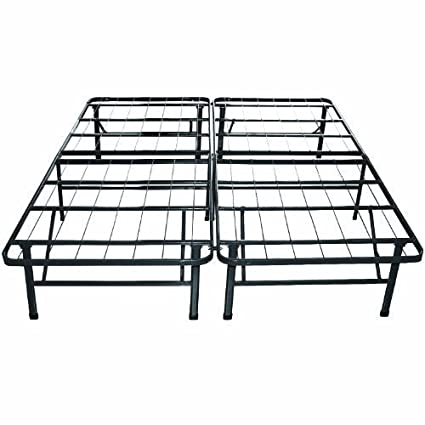 c2dbc0e4548 Image Unavailable. Image not available for. Color  Sleep Master Platform  Metal Bed Frame Mattress ...
