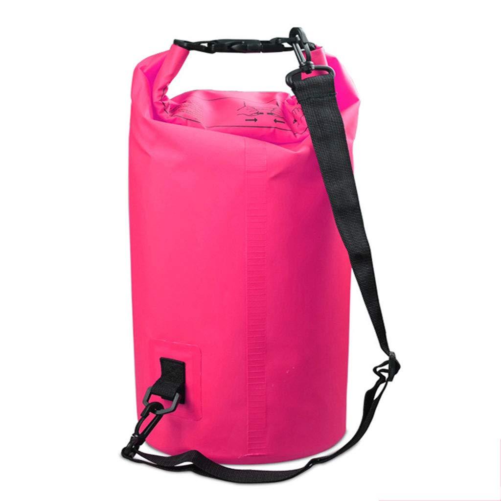 Kofun 2L-30L PVC防水ドライバッグ袋オーシャンパックフローティングボートキャンプカヤックピンク2L# 2L# ピンク B07MNFMWG5