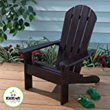 Personalized Espresso Kids Adirondack Chair