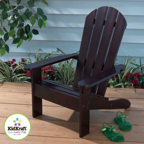 Personalized Espresso Kids Adirondack Chair