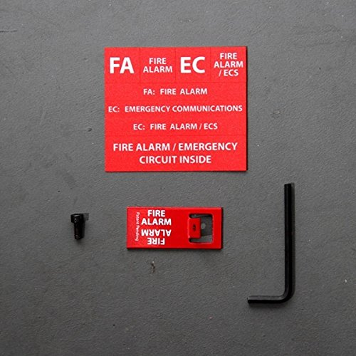 EClips ELOCK-FA, E-Series Fire Lockout Kit by Space Age