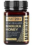 Manukora Manuka Honey UMF 20+, 500g (1.1 lbs)