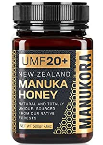Manukora Manuka Honey UMF 20+, 500g (1.1 lbs)