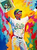 Al Sorenson Art Rickey Henderson Artist Paper 18X24