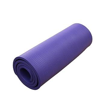 LILUO Estera de Yoga Gimnasio Individual Estera alargamiento ...