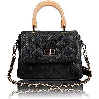 Olyphy Designer Crossbody Bag Purse for Women, Box Shoulder Bag Vintage Crossbody Wallet