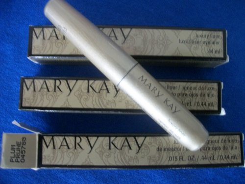 mary kay lot 3 luxury liquid eye liner PLUM limited edition new boxed