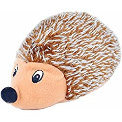 Smdoxi Rabbit Hedgehog Squirrel Skunk Cartoon Puzzle Plush Replacement Animals Toy Pet Dog Cat Playing Traning Toy (Brwon)