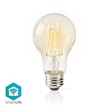 WLAN LED Filament Lampe E27 A60 5W für amazon Alexa Smart Home Glühbirne Retro