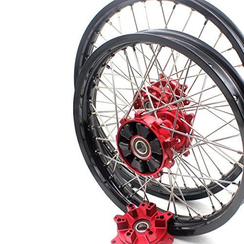 2 Wheel Drive Motorcycle - KKE HONDA CUSH DRIVE WHEELS SET FOR CRF250R CRF450R 02-13 21/18