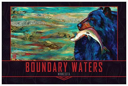 Boundary Waters Upstream Bounty Giclee Art Print Poster by Kari Lehr (12
