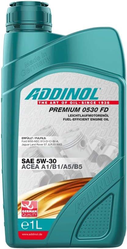 Addinol Premium 0530 Fd Fd 5w 30 A5 B5 A1 B1 Motorenöl 1 Liter Auto