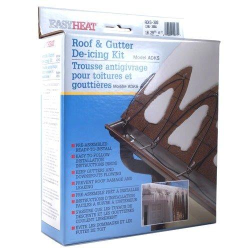 Easy Heat ADKS-800 160-Foot Roof Snow De-Icing Kit Size: 160-Foot Outdoor, Home, Garden, Supply, Maintenance