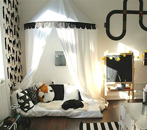 Bed Curtains canopy bed curtains for kids : Amazon.com: Play Canopy,Hanging Play Tent,Bed canopy, Net curtains ...