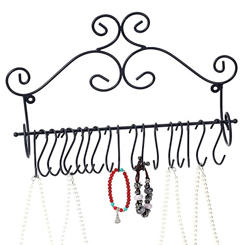 Mounted Jewelry Hanger Removable Scrollwork