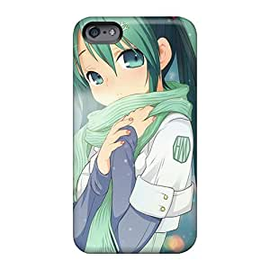 Bumper Cell-phone Hard Covers For Apple Iphone 6 Plus With Unique Design Stylish Hatsune Miku Series AlainTanielian