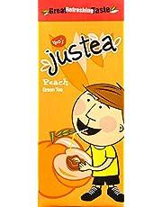 Yeo's justea, Peach Green Tea, 250ml, Pack of 6