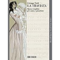 Verdi : la traviata - opéra completa per