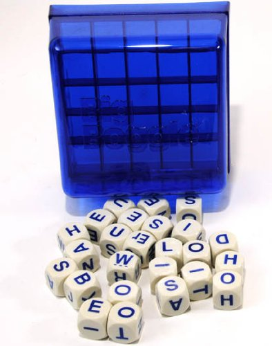 Winning Moves Games WNM011472B Big Boggle Game with 25 Letter Cubes and 5x5 Grid