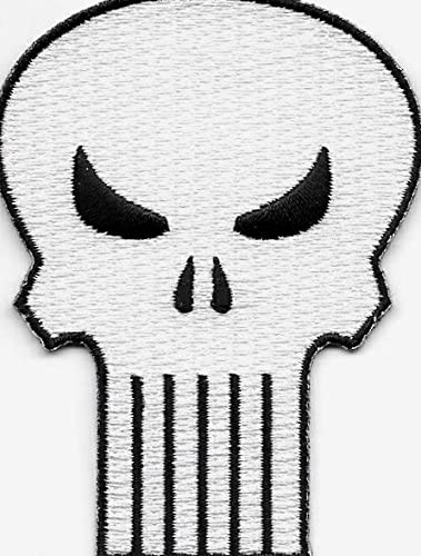 Amazon.com: Marvel The Punisher Iron On/Sew On Embroidered Patch: Arts,  Crafts & Sewing