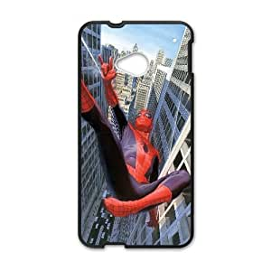 Spider Man Comic HTC One M7 Cell Phone Case Black yyfabc-459116