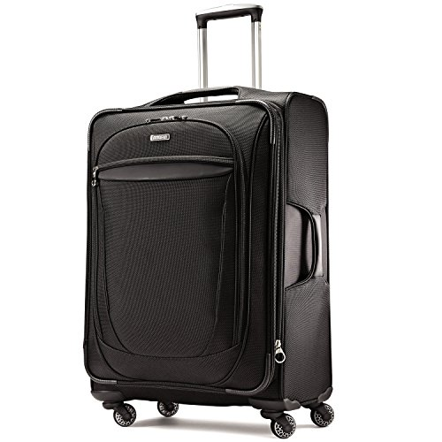 American tourister xlt 29 spinner luggage black import it all - American tourister office bags ...