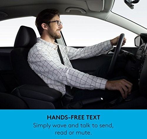 Logitech ZeroTouch with Amazon Alexa - Hands-free Car Mount and Voice Assistant App - exclusively for Android Phones - Dashboard Mount by Logitech (Image #5)