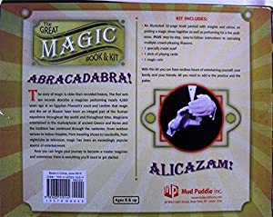 Rivchell he Great Magic Book and Kit Coin Scarf Cards - Robert Mandelberg Book