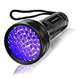 Tools & Hardware : UV Flashlight Black light UV Lights , Vansky 51 LED Blacklight Pet Urine Detector For Dog/Cat Urine,Dry Stains,Bed Bug, Matching with Pet Odor Eliminator
