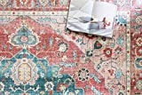 Loloi ll Skye Collection Printed Distressed Vintage