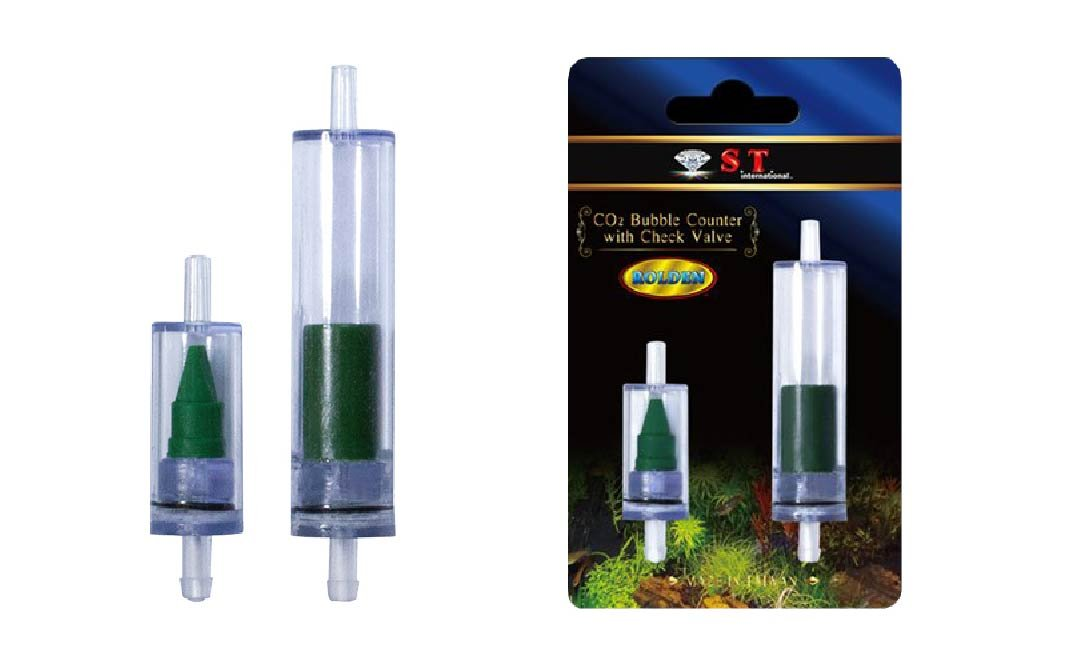 S.T. International Aquarium CO2 Bubble Counter with Check Valve by S.T. International B00I3MZFRA