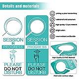 4 Pack Do Not Disturb Door Hanger Sign Funny, in