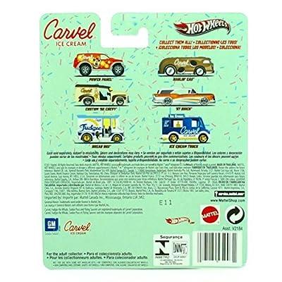 Hot Wheels CUSTOM '52 CHEVY CARVEL ICE CREAM 2012 Nostalgia Series 1:64 Scale Die-Cast Vehicle: Toys & Games