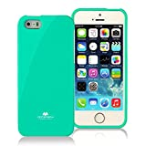5s cases jelly - iPhone SE Case, PAN TPU Rubber Skin For Apple iPhone 5SE/5S/5 Case, Mint Green Jelly