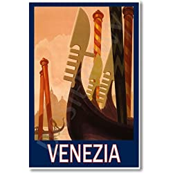 Venezia Italy Vintage - NEW World Travel Art Poster